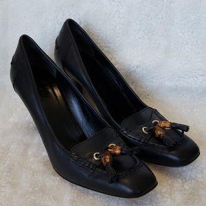 Gucci Classic leather heels